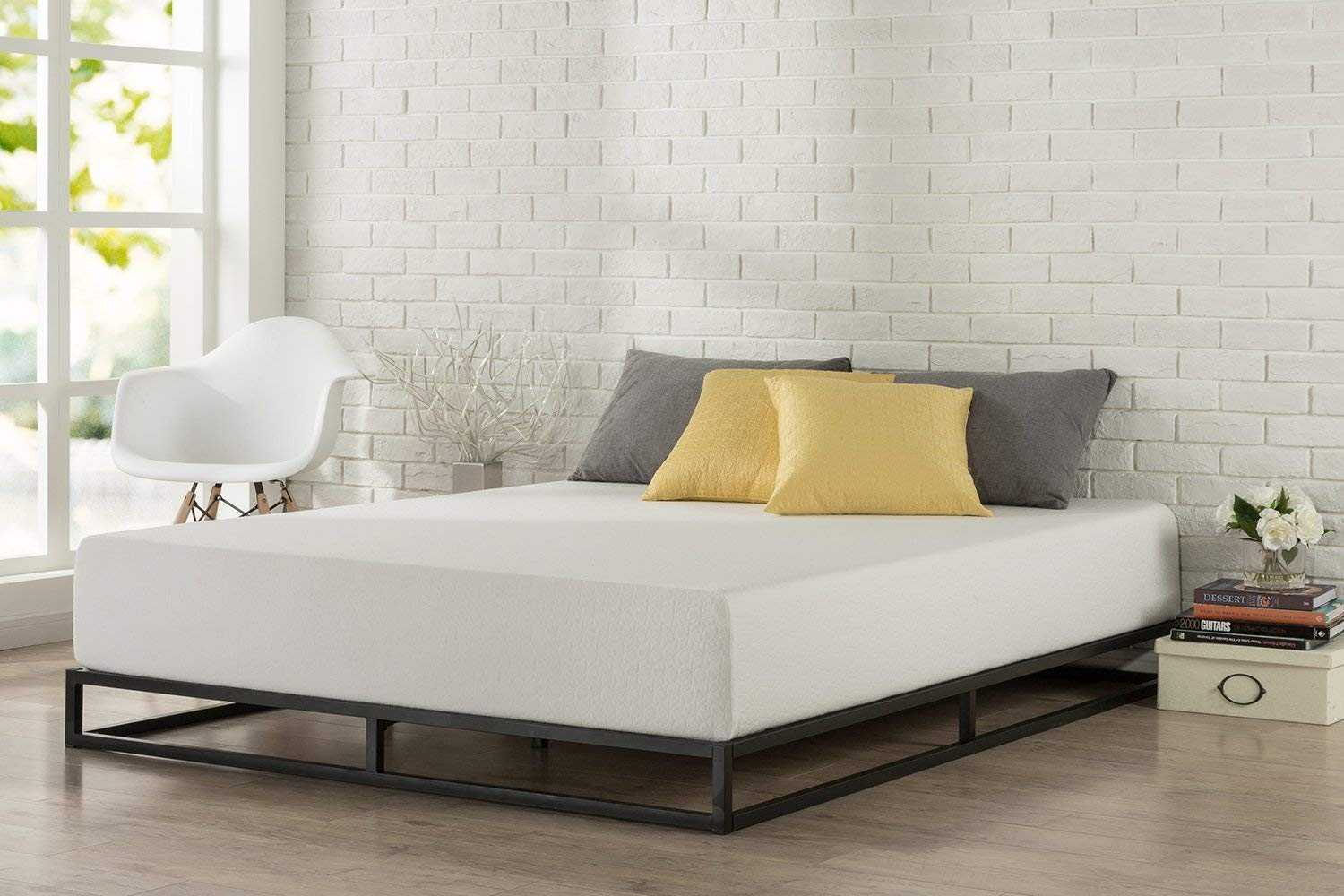 6 Inch Low Profile Platform Bed Frame